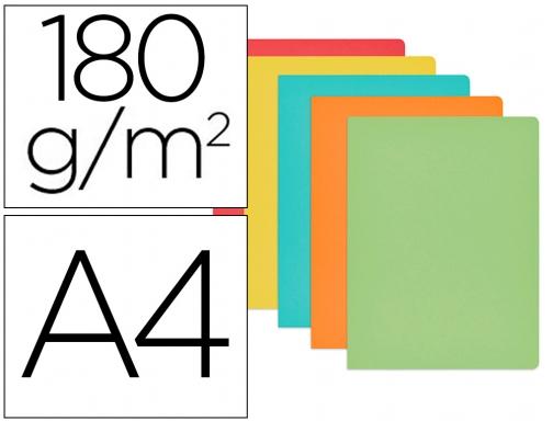 50 unidades Gio Subcarpeta cartulina din a4 blanca 180 g//m2