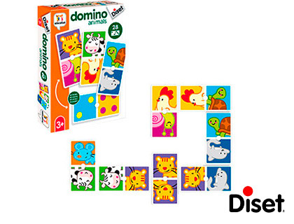 Juego Diset educativo domino animals 68956