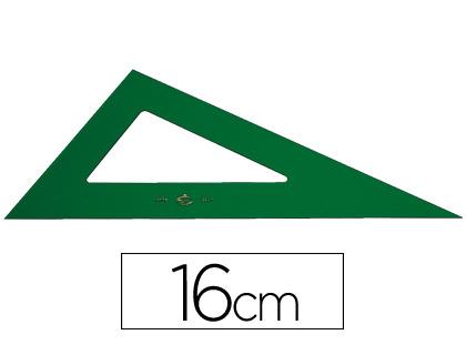 Liderpapel JG03 15 cm 25 cm 30 cm Juego escuadra y cartab/ón regla y semic/írculo