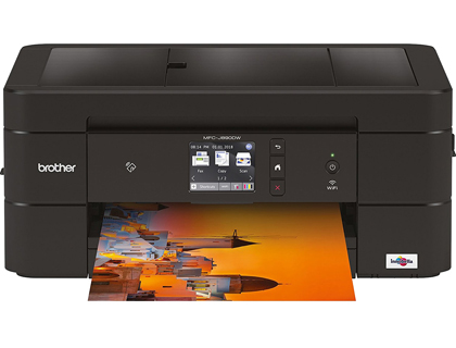 Equipo multifuncion Brother MFC-J890DW inyeccion de tinta color led 27