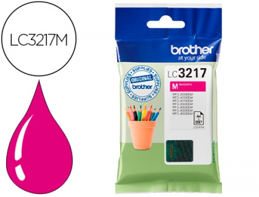 Ink-jet Brother LC3217M MFCj6530 MFCj6935 magenta 550 paginas