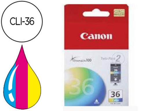 Ink-jet Canon cli-36 tricolor pixma mini 260 ip100 1511B001