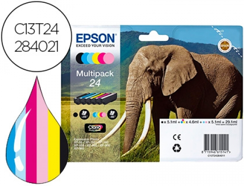 Ink jet Epson 24 claria expression xp-55 750 760 850 C13T24284021