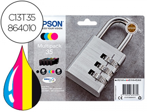 Ink-jet Epson 35 t3586 pro wf-4720dwf 4725dwf 4730dtwf 4740dtwf multipack C13T35864010