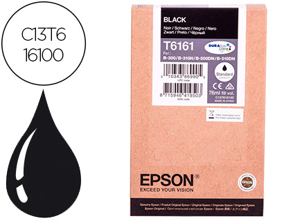 Ink-jet Epson C13T616100 b 300 500dn negro 3.000 pag