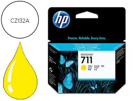Ink-jet Hp n.711 amarillo 29 ml Designjet t120 t520 CZ132A