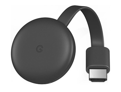 Reproductor multimedia digital Google chromecast 3 full hd 1920x1080 pixeles 6106261