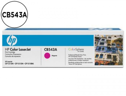 Toner Hp CB543A color Laserjet cp-1215 cp-1515 cp-1518 magenta with