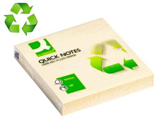 Bloc 250 notas adhesivas 75 x 100 mm