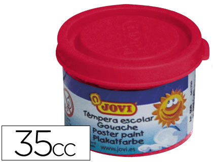 Tempera Jovi 35 ml bermellon 503 7