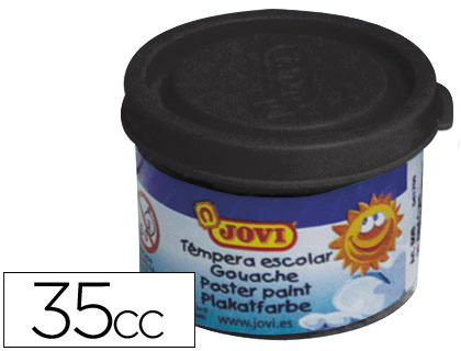 Tempera Jovi 35 ml negro 503 30