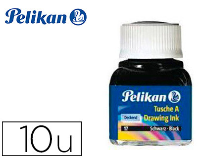 Tinta china Pelikan colores surtidos frasco 10 ml 249474