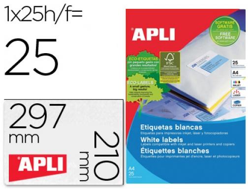 20 A4 hoja de etiqueta de papel etiqueta adhesiva 16 99,1 x 33,9 mm para las impresoras de chorro de tinta y l/áser