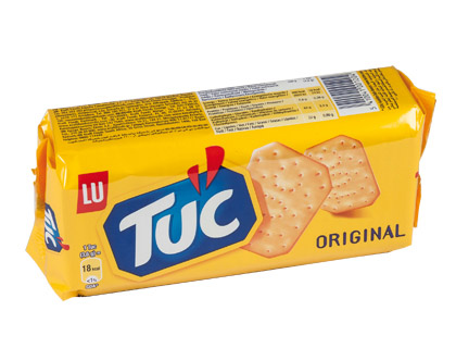 Galletas saladas Tuc cracker o riginal 100g 043670