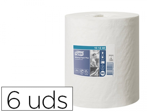 Papel secamanos Tork extra ancho 215 mm largo 160 mt 101240