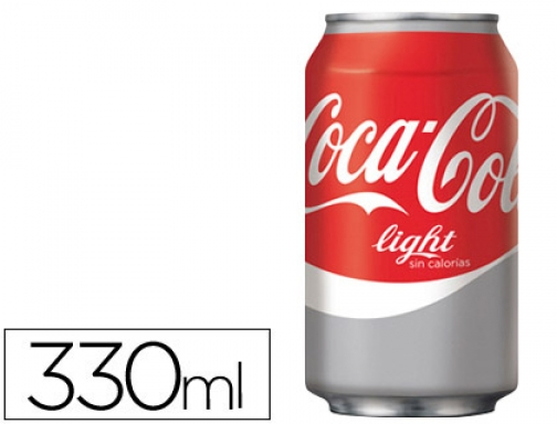 Refresco Coca-cola light lata 330 ml 010625