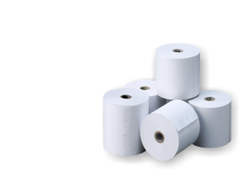 Rollos papel impresora tickets